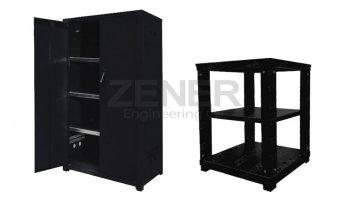 Zener battery cabinet