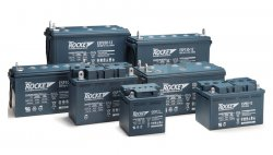 Rocket SLA batteries ESP series